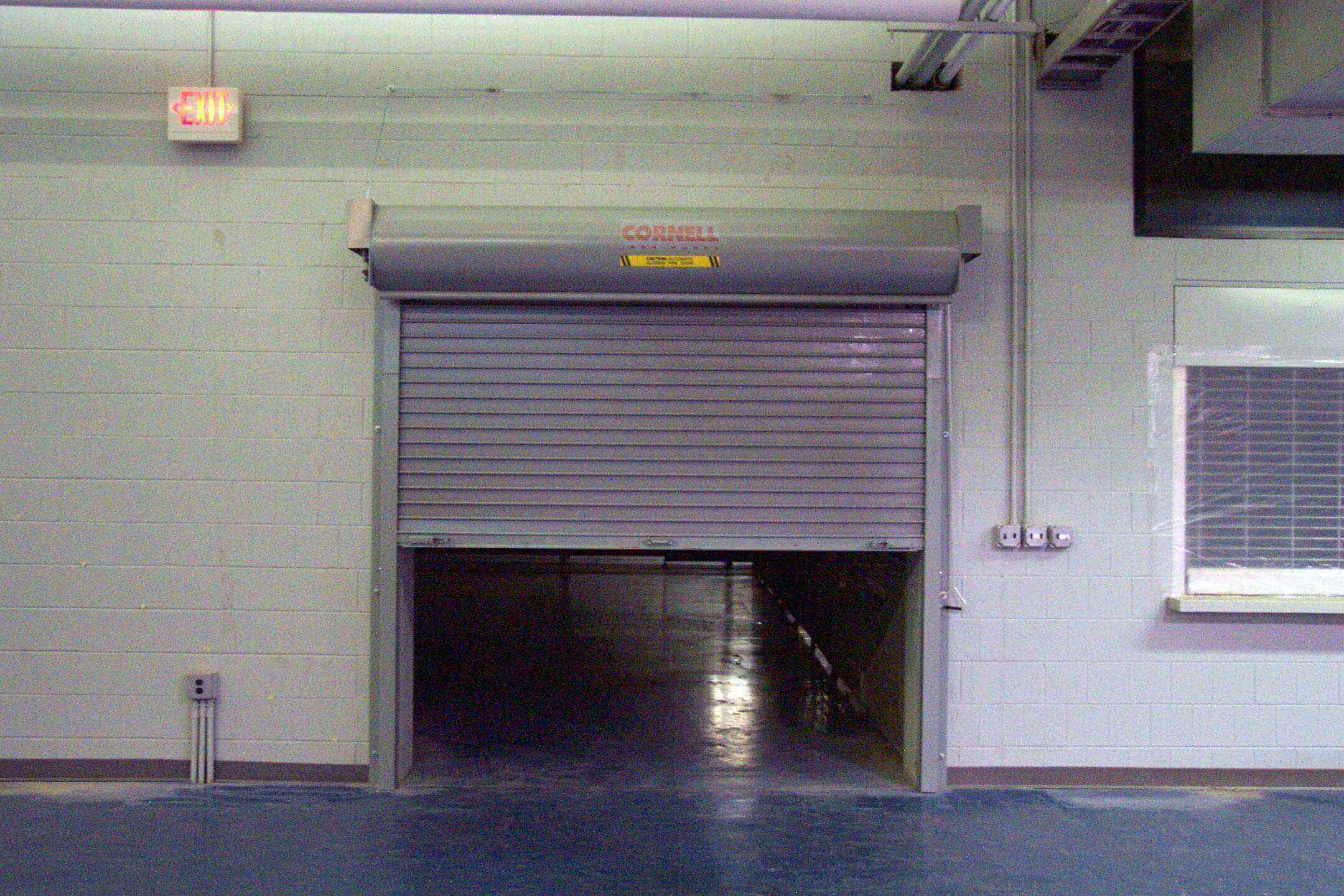 Techtradedoors Cornell Roller Shutters Fire Rated